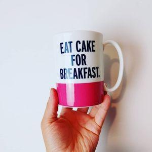 KATE SPADE | Eat Cake for Breakfast Coffee Mug